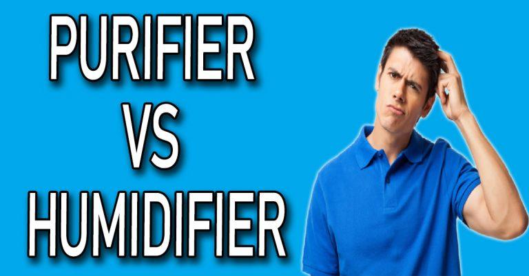 Purifier VS Humidifier
