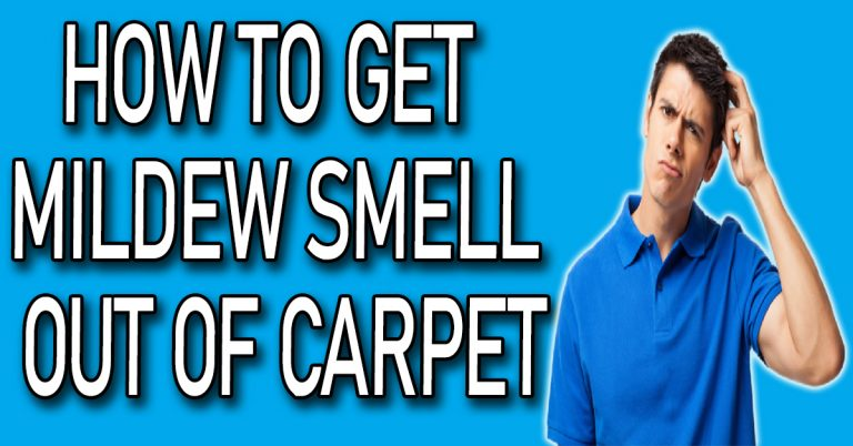 How to Get Mildew Smell Out of Carpet